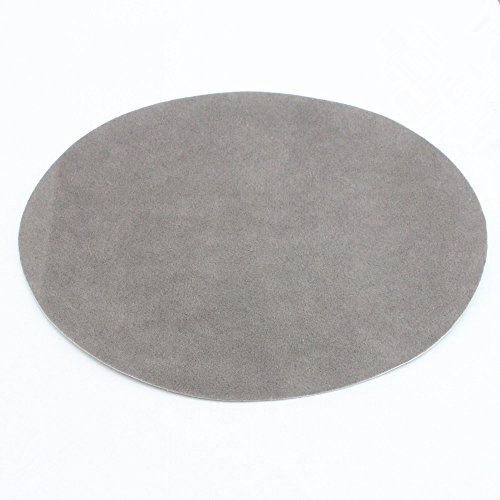 2pcs/lot 110X140mm Round Iron On Patches Repair Elbow Knee Applique Patches For clothes (Light Grey)