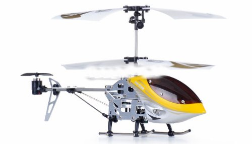 remote control rc radio control 3 Channel Mini Eagle RC Electric Co-axial Helicopter w/ LED Lights Full Metal Body Frame & Gyroscope (ASSORTED COLORS SENT AT RANDOM)