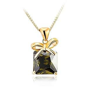 ZMC Women's Olive Pendant Necklace
