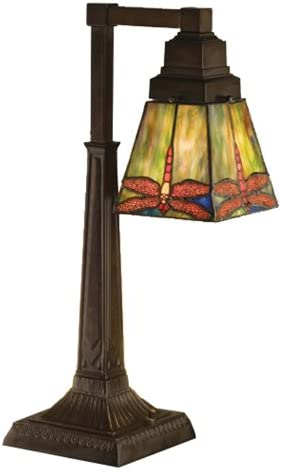 Meyda Tiffany 48212 Prairie Dragonfly Desk Lamp