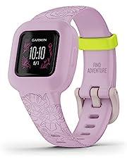 Garmin Vivofit Jr. 3, Kids Fitness/Activity Tracker, Lilac Floral