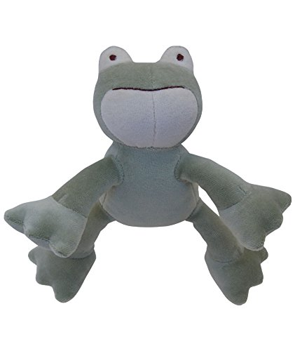 Fido Simply Organic Cotton - Simply Fido Petite Frog Toy, Green, 6
