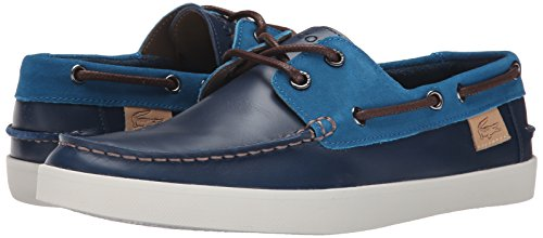 Lacoste Men's Keellson 8 Boat Shoe, Navy Navy/Blue, 13 M US by Lacoste (Image #6)