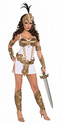 Forum Novelties Women's Days Of Glory Warrior Woman Costume, White, (Female Armor Costume)