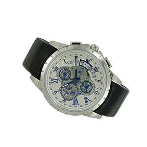 ?SALVATORE MARRA Chronograph Watch SM13119S-SSWHBL Men