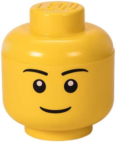 Lego 4031 Storage Head Small Boy,Yellow