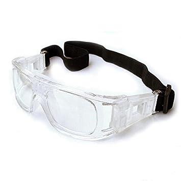 6833d833b6 EnzoDate gafas de baloncesto fútbol gafas de los hombres, protector fútbol  gafas, gafas de deporte profesional (Blanco): Amazon.es: Deportes y aire  libre