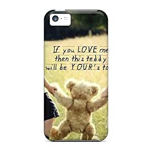 For Iphone Cases, High Quality If U Love Me For Iphone 5c Covers Cases