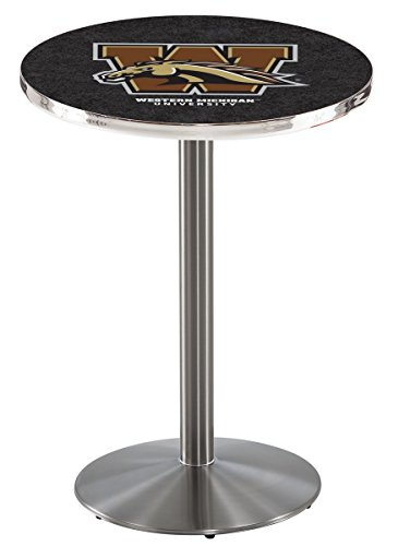 Holland Bar Stool L214S Western Michigan University Officially Licensed Pub Table, 28