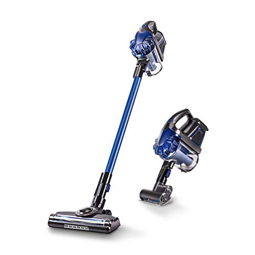 Gohyo Cordless Vacuum Cleaner | Lightweight Stick Vacuum with Dual Digital Motor, 7.5 kPa Powerful Suction, Long-Lasting Rechargeable Battery, HEPA Filter and LED Brush, Handheld Vacuum