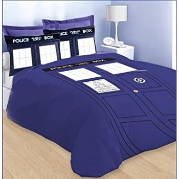 Doctor Who TARDIS Queen Size Comforter