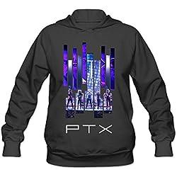 Custom Pentatonix Tour 2016 Live Women's Black Hoodie Pullover Sweatshirt
