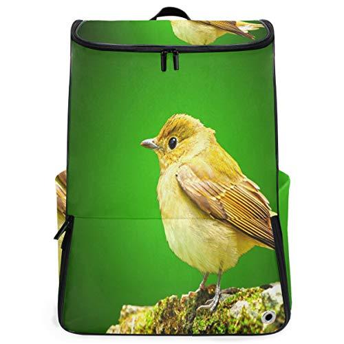 Ladninag Laptop Backpack Stylish Little Bird Sprot Backpack for Women Big Vintage -