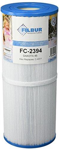 Filbur FC-2394 Antimicrobial Replacement Filter Cartridge for Dakota 45 Pool and Spa Filter