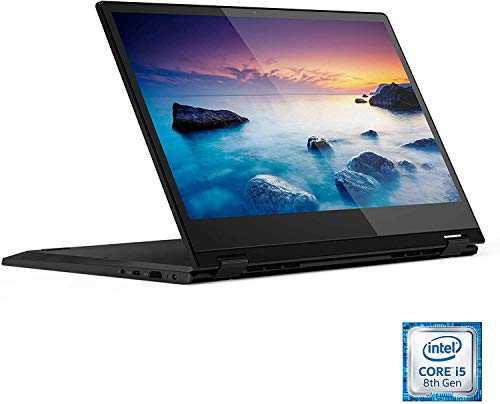 Lenovo Flex 14 2-in-1 Convertible Touchscreen HD Laptop Computer PC, Intel Core i3-8145U, Intel UHD Graphics 620, HDMI, USB-C, Windows 10, CUE Accessories Bundle (4GB DDR4 | 128GB SSD)