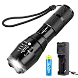 MIKAFEN Led Tactical Flashlight,High Lumen