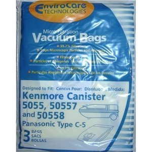 Kenmore 50558 Single Vacuum Panasonic