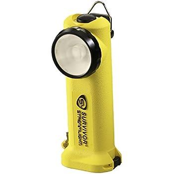 90541 Angle Led Flashlight6 34 175 Right Streamlight InchYellow Lumens Survivor vmw80ONn