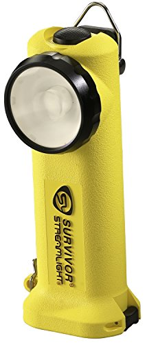 Yellow Rechargeable Flashlight - Streamlight 90510 Survivor LED Rechargeable Flashlight, Yellow