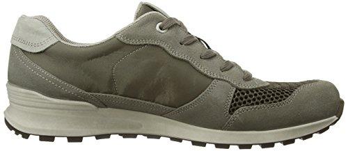 Ecco CS14Men's - zapatilla deportiva de cuero hombre Grau (Warm Grey/Dark Clay/Moon Rock)