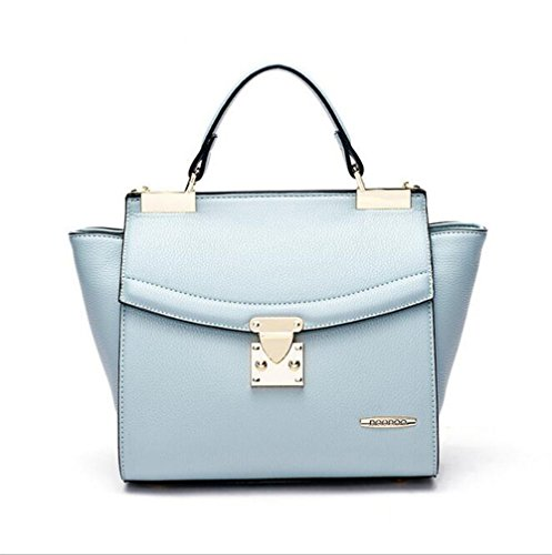 [VVeda Summer New Handbag Fashion Casual Portable Shoulder Diagonal Bag(Blue)] (Dance Costumes Australia Suppliers)