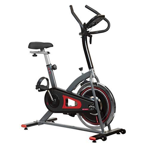 ZYNERGY Spinbike Bicicleta Fija, 7 kg, Neg