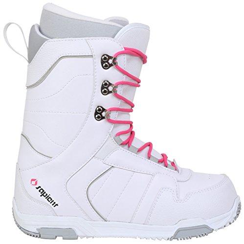 Sapient Proven Snowboard Boots White/Grey Womens