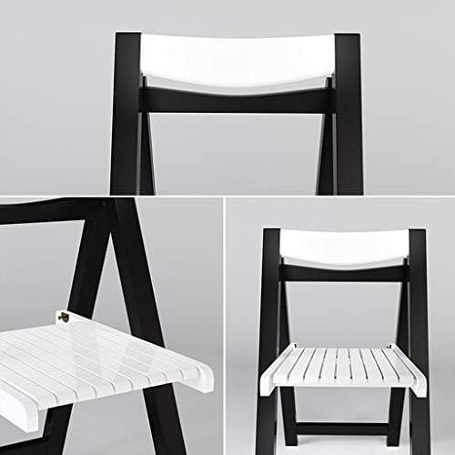 Chaise de bureau Chaise d'ordinateur Chaise de Salle à Manger Pliante Simple Cuisine Moderne Chaise de Repos au Dossier PENGJIE