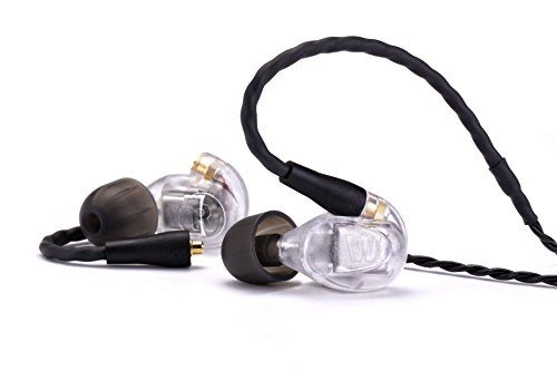Westone UM Pro20 High Performance Dual Driver Noise-Isolating In-Ear Monitors - Clear, 78515 (Westone In Ear)