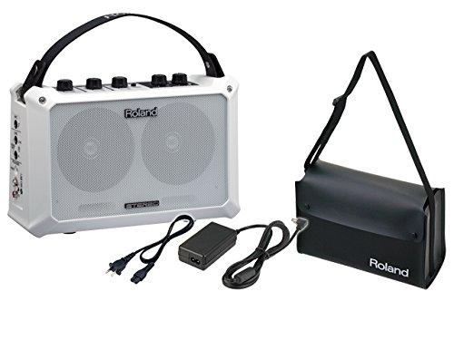 Roland ステレモバイルアンプ MOBILE BA + 純正キャリングケース CB-MBC1 + 純正ACアダプター PSB-100 セット   B06XHHQ8K8