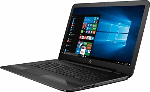 [HP 17.3 inch HD+ Flagship High Performance Laptop PC, Intel Core i7-7500U 2.7GHz Dual-Core, 8GB DDR4, 1TB HDD, DVD RW, Stereo Speakers, Webcam, WIFI, Windows 10, Black] (Compaq Ethernet Laptop Computers)