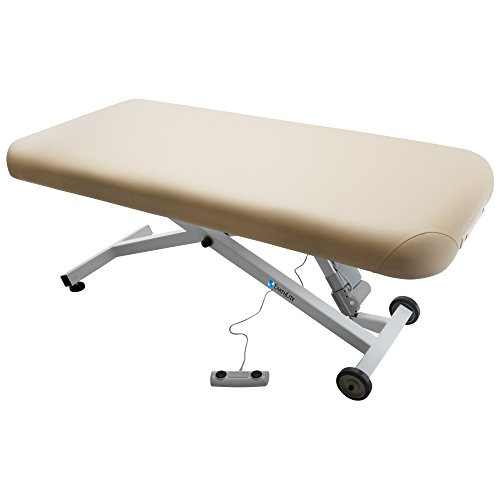 "EARTHLITE Electric Massage Table ELLORA – The Quietest, Most Popular Spa Lift Hydraulic Massage Table – Made in USA/Customer Service in the USA (28"", 30"", 32"" x 73"")"