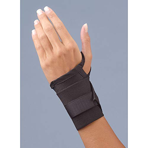 Safe-T-Wrist Lite Duty Wrist Support, Universal Black