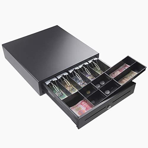Vivona 5 Bills & 8 Coins Manual Cash Box Drawer Register Money Coin Collecting Insert Storage Tray Kits