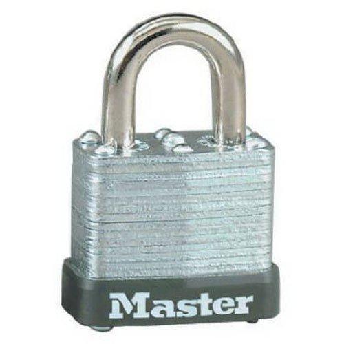 - Master Lock 105D Wide Warded Padlock, 1-1/8-inch, Steel