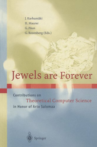 Jewels are Forever: Contributions on Theoretical Computer Science in Honor of Arto Salomaa by Brand: Springer