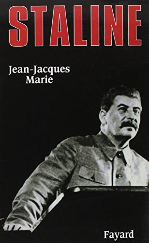 Staline [Paperback] [Jan 01, 2003] Marie, Jean-Jacques