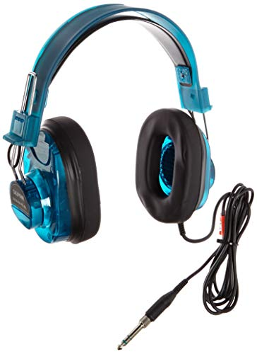 - Califone 2924AVPS-BL Deluxe Stereo Headset, 10 Ounces, Blueberry (Renewed)