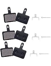 DXIA 3 Paar Fiets Disc Remblokken, Schijfremblokken, Mountainbike Remblokken, Keramische Schijfremmen met Pads, für Shimano M315, M355, M375, M395, M416, M446, M447, M475, M515, M525