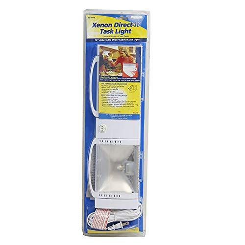 Westek XE120HB 16-Inch Plug-In 40-Watt Xenon Direct-It Task Light, White ()