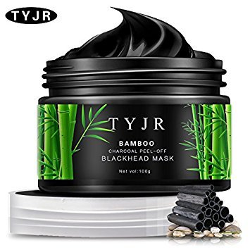 TYJR Vena Beauty Blackhead Remover Black Mask Cleaner Purifying Deep Cleansing Blackhead Black Mud Face Mask Peel-off 100ml