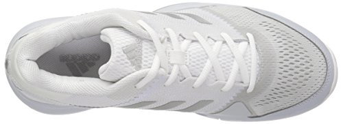 Barricade Pink Women's Tennis adidas Metallic Shoe Club W Core White Silver H5wBdvq