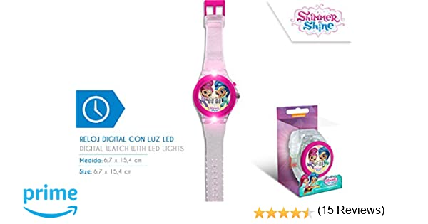 Disney – Reloj Digital Shimmer and Shine con luz led - SH17024
