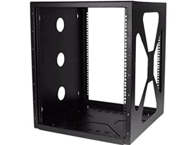 StarTech.com 8U Sideways Wall-Mount Rack for Servers - Side-Mount Server Rack for Easy Access