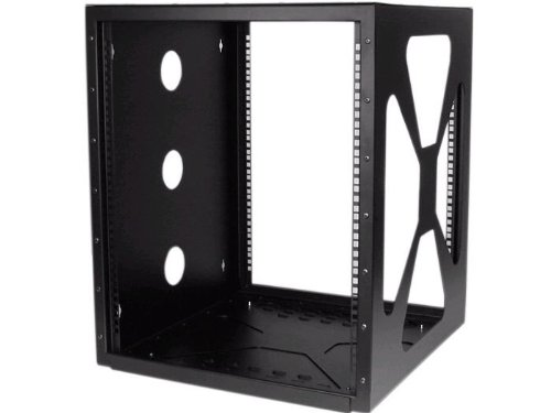 Side Mount Wall Cabinet (StarTech.com 12U Sideways Wall-Mount Rack for Servers - Side-Mount Server Rack for Easy Access)