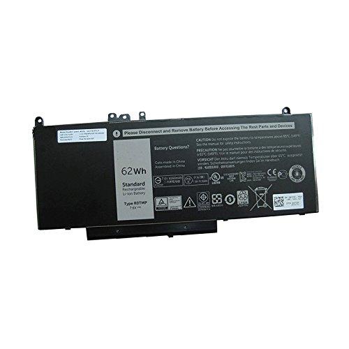 Dentsing R0TMP/G5M10/RYXXH Battery 7.6V 62Wh for Dell Latitude E5450 E5550 ROTMP WTG3T ENP575577A1