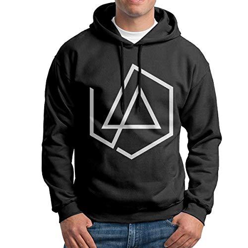 Linkin Park Men Long Sleeve Casual Hoodie Hooded Sweatshirt Drawstring Black