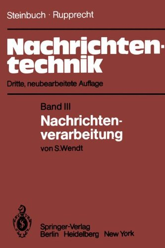Nachrichtentechnik: Band 3: Nachrichtenverarbeitung (German Edition)