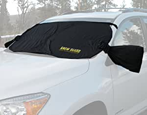 Snow Guard the Windshield Cover with Side View Mirror Protective Covers for Easy Removal of Snow and Ice.