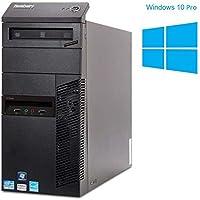 Lenovo Thinkcentre M91p   Büro Computer/Internet PC   Intel Core i5-2400 @ 3,1 GHz   8GB DDR3 RAM   250GB HDD   DVD-Laufwerk   Windows 10 Home (Zertifiziert und Generalüberholt)